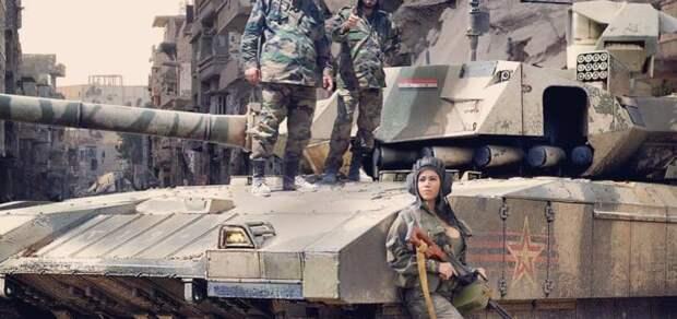 NI: русские не зря отправляли танки Т-14 «Армата» в Сирию