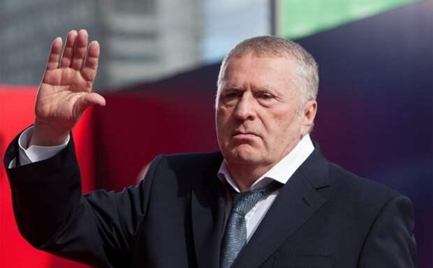 «Верховный правитель России» Жириновский произнёс прощальную речь
