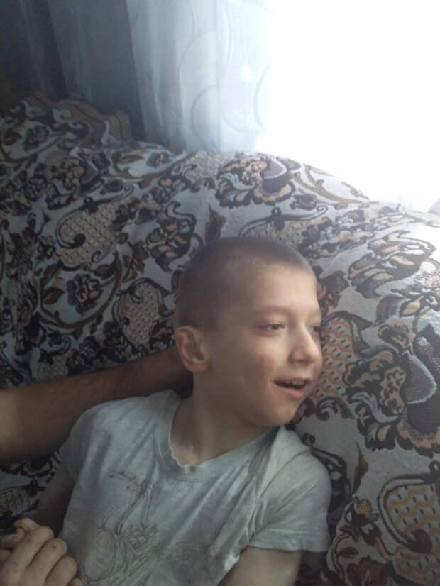 Необходимо лечение: мальчик 13-ти лет активно борется с ДЦП
