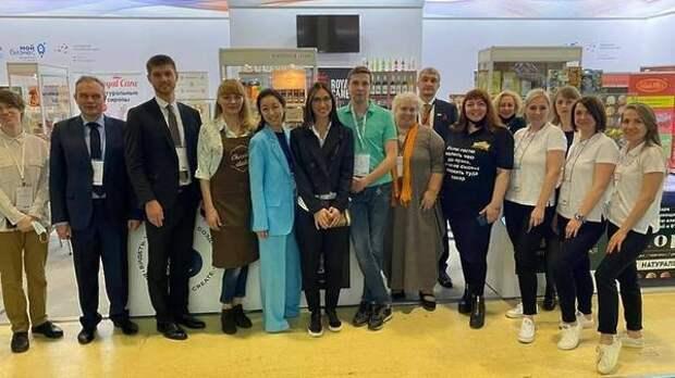 Ярославская продукция представлена в Москве на «Продэкспо-2021»