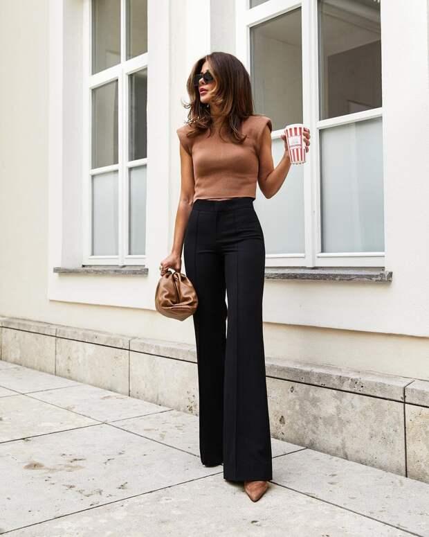 10 доказательств того, что в брюках можно выглядеть женственно