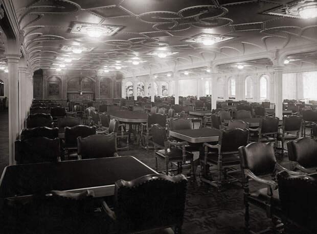 обеденный зал на титанике