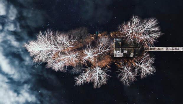 Красоты Карпат с высоты птичьего полета