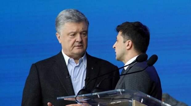 Порошенко раскрыл план Зеленского по санкциям в отношении кума Путина