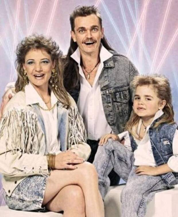 Смешные и нелепые семейные фотографии (17 шт)
