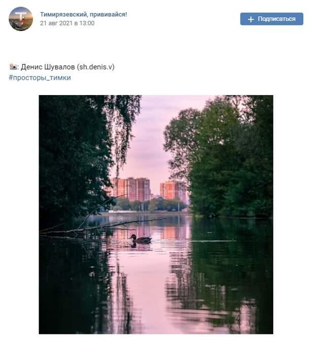 Фото дня: красочный Большой садовый пруд