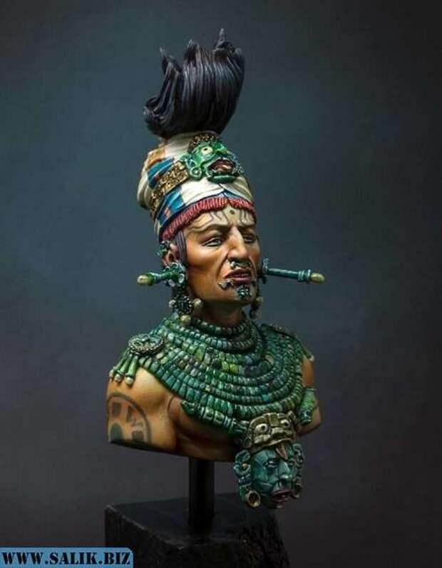 Древний космонавт в древних майя