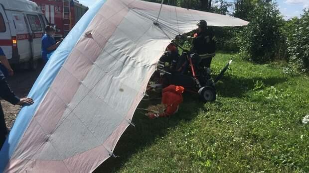 Стали известны подробности инцидента с мотодельтапланом в Подмосковье