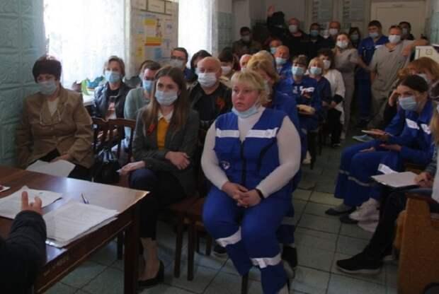 Медработники в Керчи удовлетворены разговорами о COVID-доплатах
