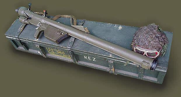 ПЗРК «Lyuftfaust» («Воздушный кулак») 1944 г.