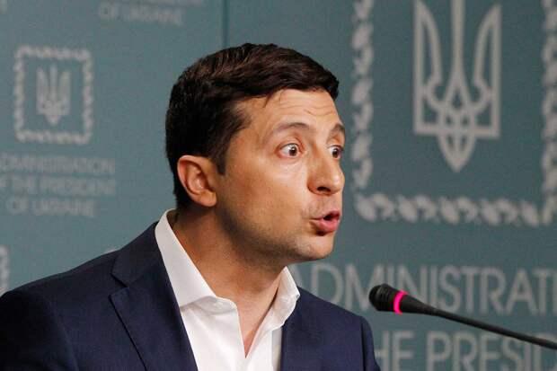 Зеленский: Ополченцы Донбасса срывают режим прекращения огня