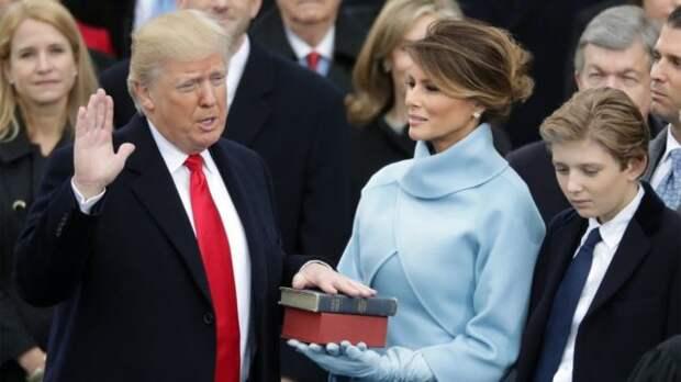 кадр с инаугурации дональда трампа
