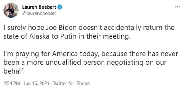 Знак: На встрече Путина и Байдена поставили глобус с российской Аляской
