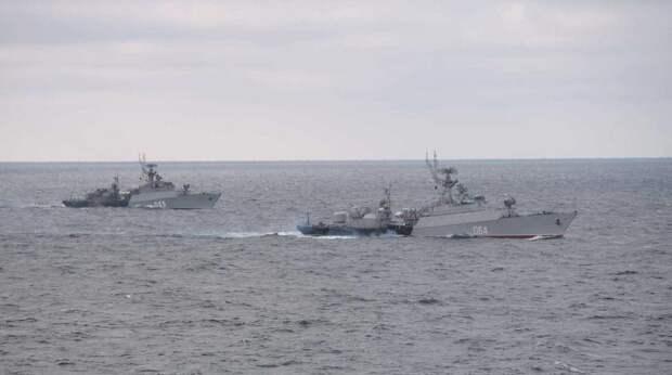 Украина возмутилась решением Минобороны РФ о закрытии части Черного моря