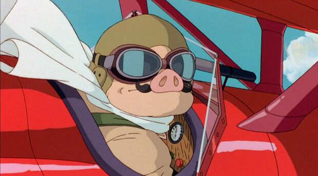 Отважный воздушный герой Марко Пагот — он же Порко Россо - «Лучше быть свиньёй, чем фашистом»   Warspot.ru