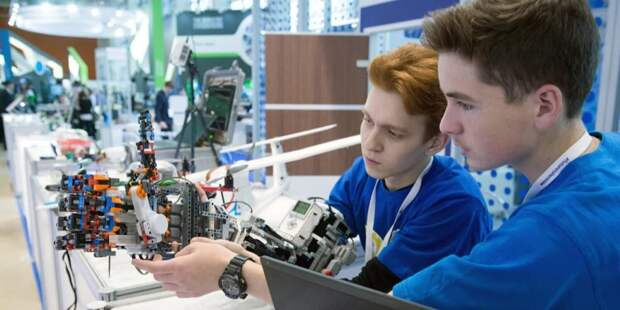Сергунина: В Москве пройдут соревнования по робототехнике для школьников / Фото: Е.Самарин, mos.ru