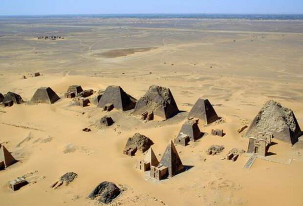 Нубийские пирамиды
