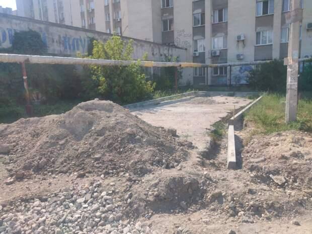 Подрядчик просто бросил объекты благоустройства в Симферополе