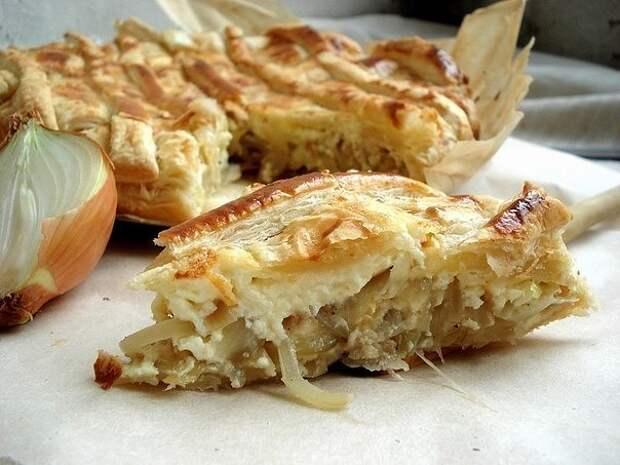 Луковый пирог 7