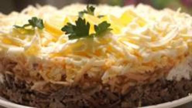 Салат из печени по-сербски от Николы Радишича