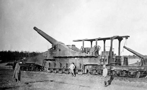 Самые большие пушки в истории войн