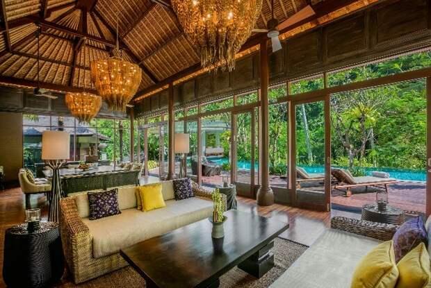 Отдых в окружении джунглей