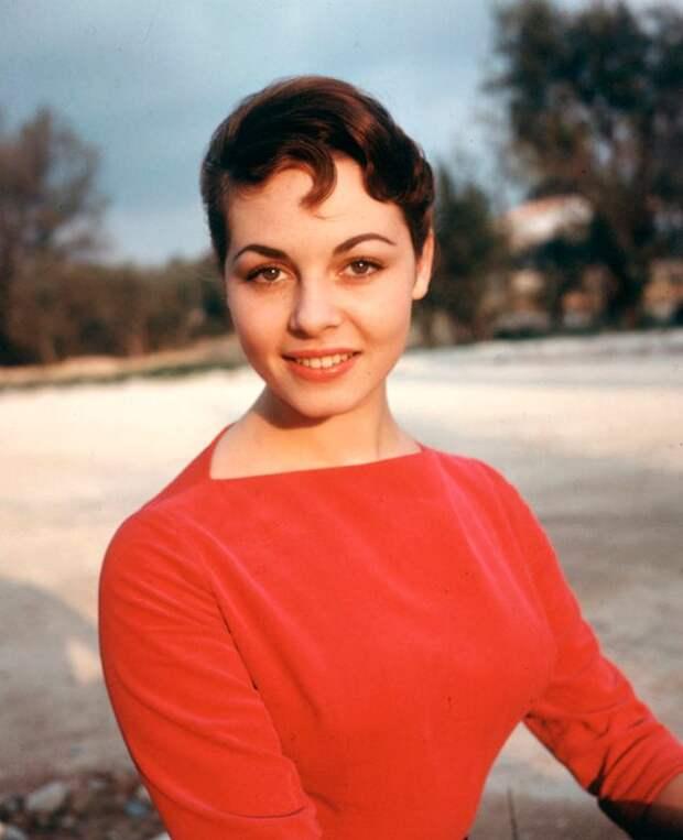 Фотографии Мишель Мерсье, сделанных до того, как она стала Анжеликой