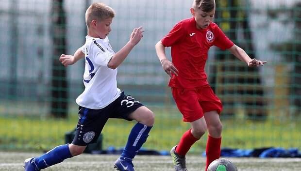 Юные футболисты из Подольска завоевали бронзу на фестивале в Москве