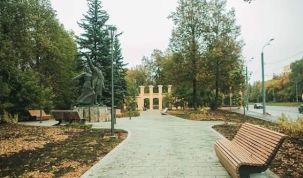 Реконструкция сквера «Первых маевок» завершилась внижегородском парке «Швейцария»