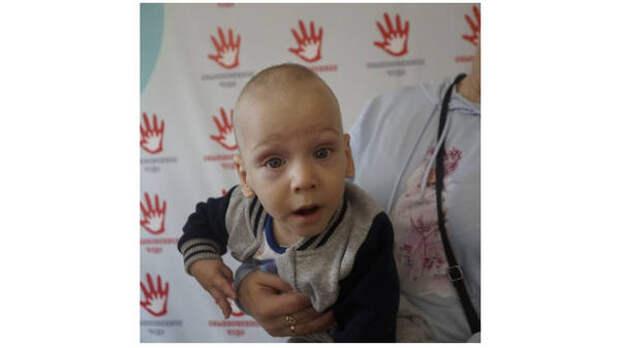 Мальчику с диагнозом ДЦП нужна помощь томичей, чтобы пройти курс реабилитации