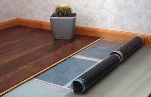 Особенности использования плёночного(инфракрасного) тёплого пола в каркасном или деревянном доме