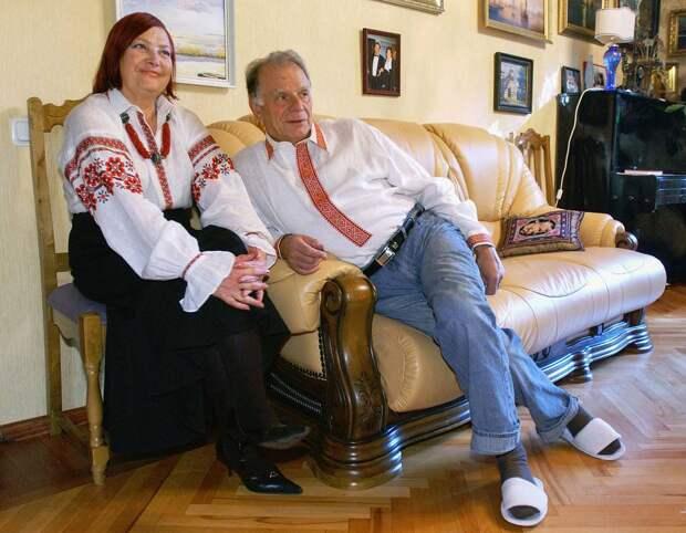С женой Тамарой, 2005 год Юрий Белинский/ТАСС