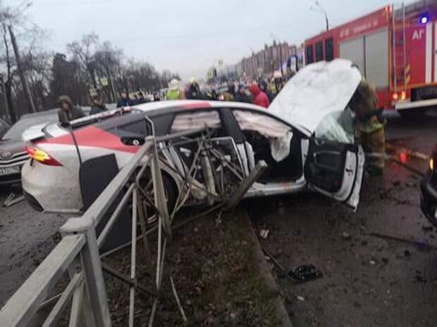 ГИБДД Петербурга открыла страшную правду про утреннее ДТП с 15 машинами
