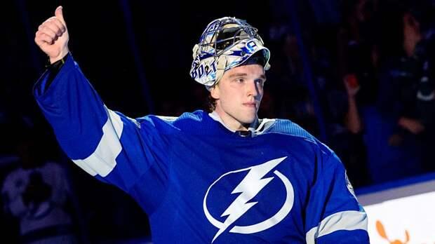 33 сэйва Василевского помогли «Тампе» разгромить «Флориду». Волков забил 1-й гол в НХЛ, у Сергачева ассист