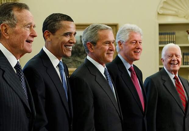 А ведь Россия когда-то и Буша с Рузвельтом выбирала…