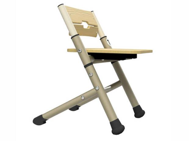Детям в школах Перми разрешили качаться на стульях в лечебных целях