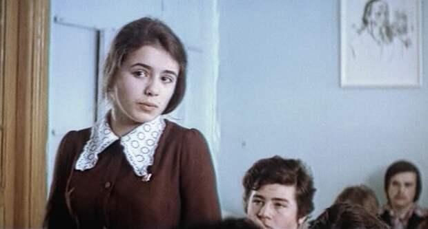 "Елена Цыплакова в фильме ""Ключ без права передачи"" (1976)"