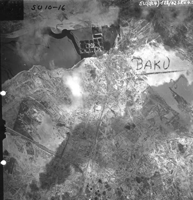 Почему Люфваффе не бомбили Баку?