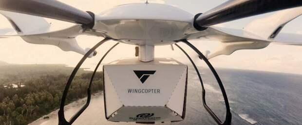 Беспилотные дроны Wingcopter начнут доставлять посылки в Японии с 2023 года