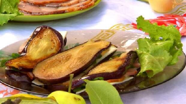 Сендвичи из баклажанов. \ Фото: nastroenie.tv.