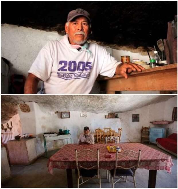 Сбывшаяся мечта: как живется «пещерному» семейству под огромным валуном среди пустыни