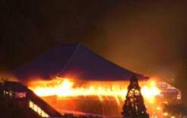 Омидзутори – фестиваль огня и воды