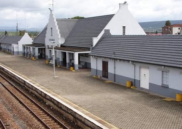 Железнодорожная станция Эйтенхахе в настоящее время / Источник: groundup.org.za