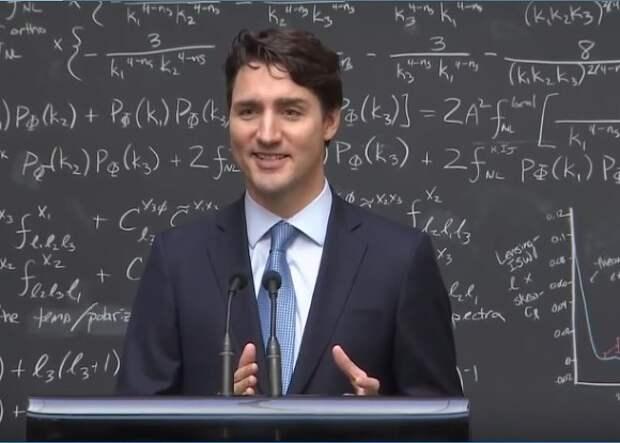 Канадский премьер привился от коронавируса