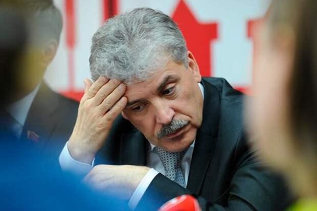 ЦИК отказался передать Павлу Грудинину мандат депутата Госдумы