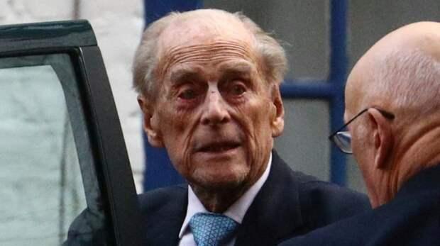 Скончался супруг Елизаветы II герцог Эдинбургский Филипп
