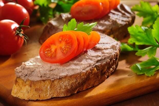Рецепт паштета без сливочного масла