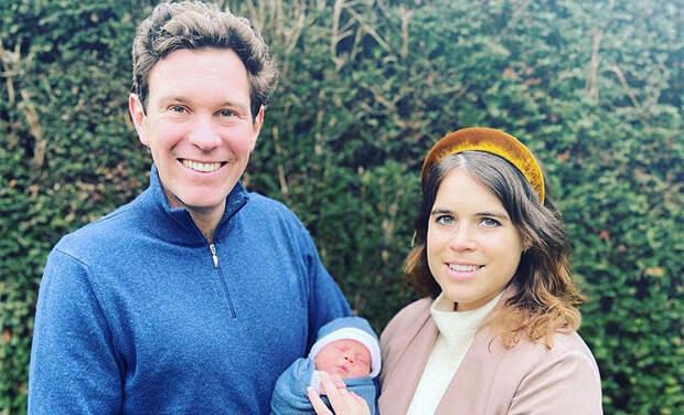 Принцесса Евгения и Джек Бруксбенк обнародовали имя и первые фото новорожденного сына