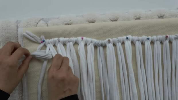 Уникальная идея использования маек, которые вы уже не носите