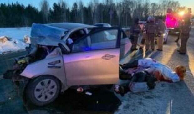 Двое детей и трое взрослых погибли в ДТП с грузовиком на Тюменском тракте